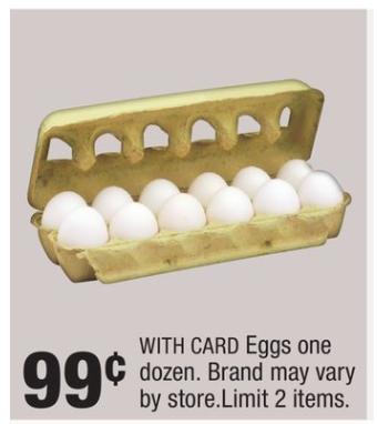CVS: Get a dozen eggs for just $0.74!