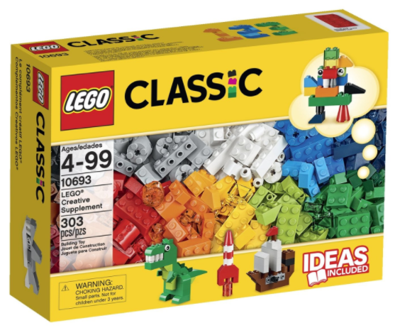 Get the LEGO Classic Creative Supplement for just $13.99!