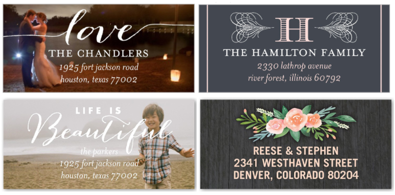 Shutterfly: Get a set of 24 personalized address labels for just $2.99 shipped!