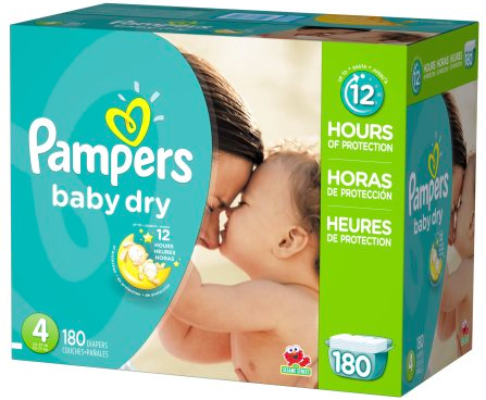 Walmart: Get up to 44 Pampers diapers for FREE after rebate!