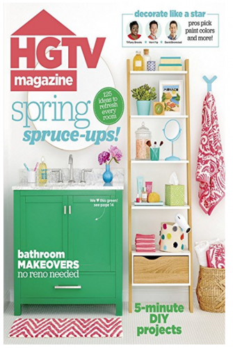 Amazon.com: HGTV Magazine for just $5 per year!