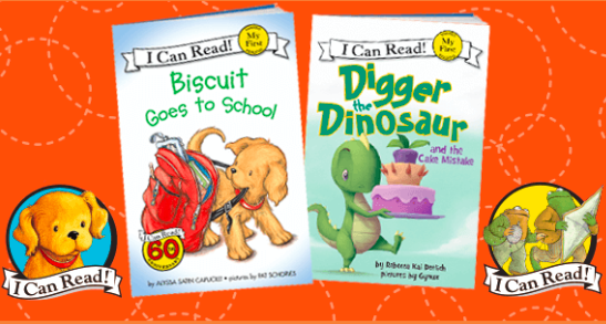 Get two I Can Read books free (just pay $1 shipping)!