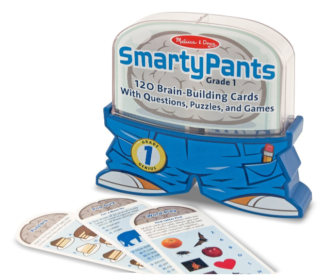 Amazon.com: Melissa & Doug Smarty Pants Educational 1st Grade Card Set for just $6.72!