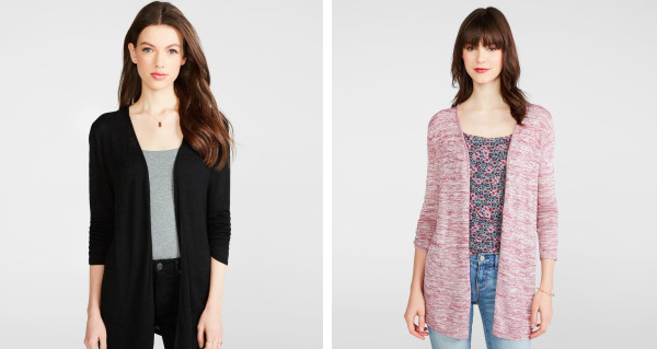 Aeropostale: Extra 50% off clearance = Women's Half Zip-Ups for $8.99, Cardigans for $6.99 + more!