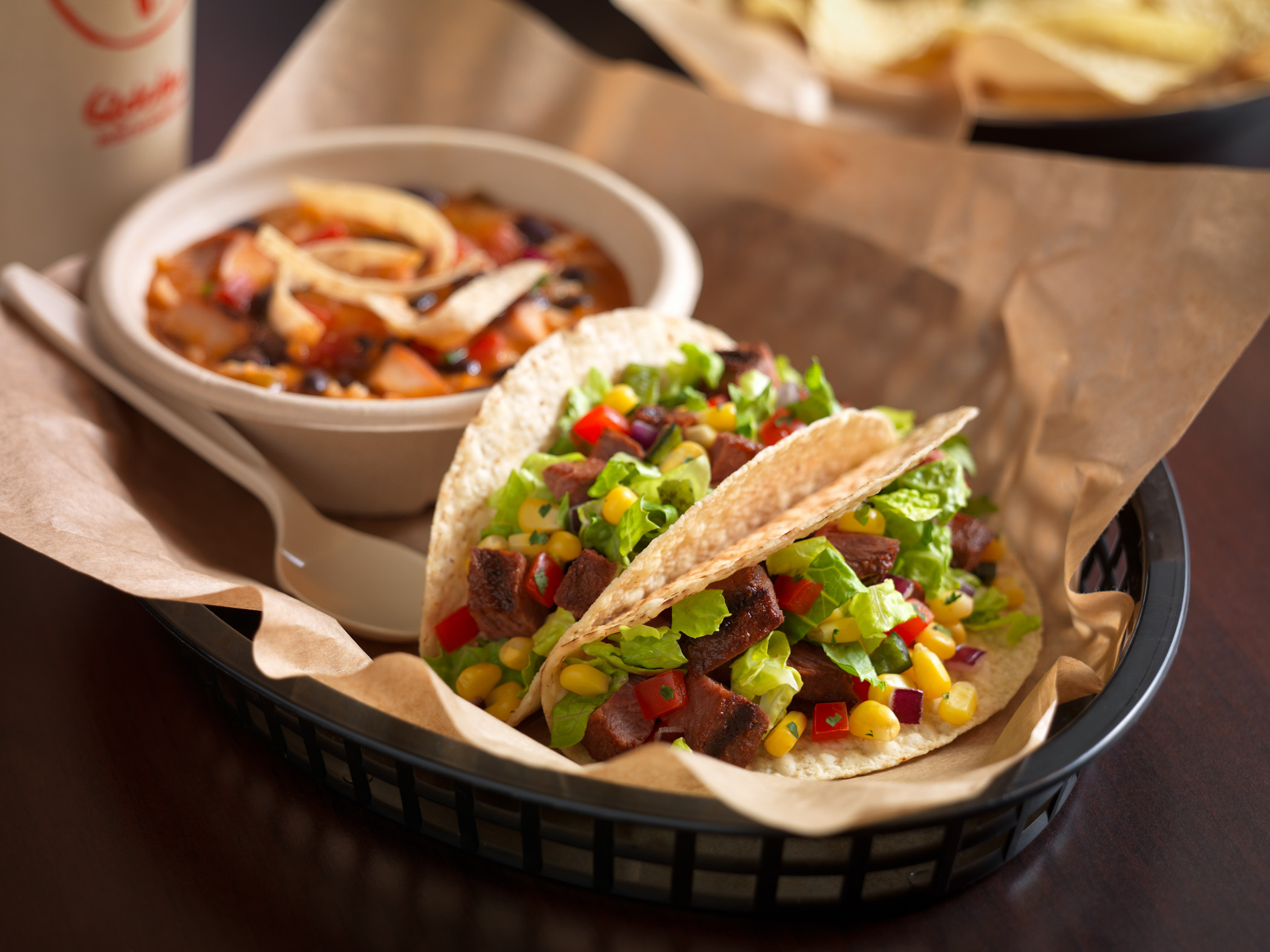 Qdoba: Buy one, get one free entrees on April 3, 2017