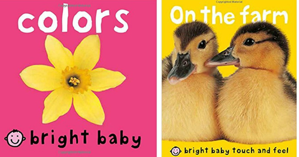 Amazon.com: Bright Baby Touch and Feel Board Books just $2.49!