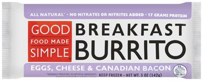 Target: Free Good Food Made Simple Breakfast Burritos!