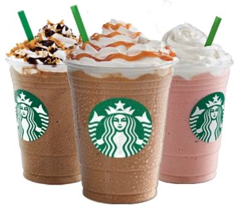 Target Cartwheel: Get 25% off Starbucks Cafe Frappuccinos