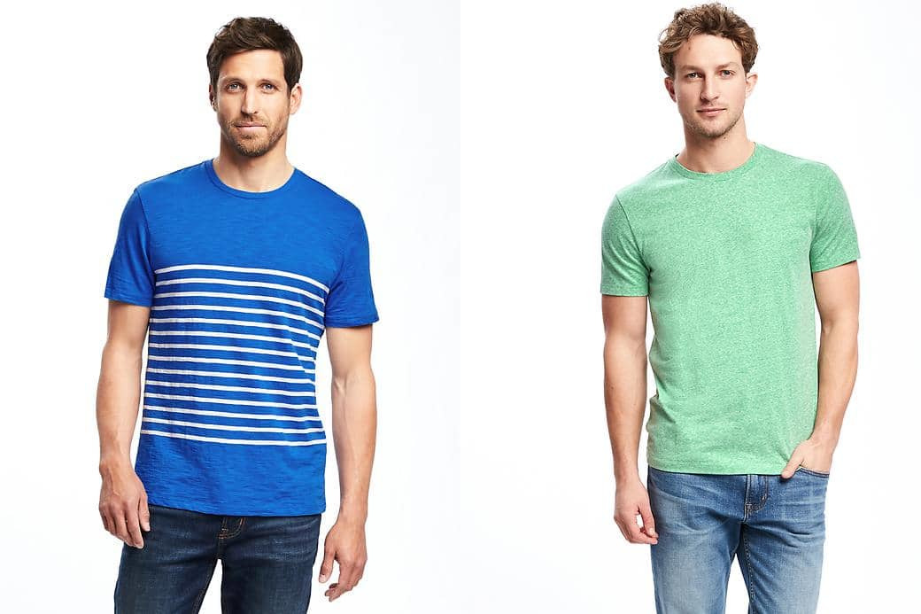 Old Navy: Get Men's Tees for just $5 each, Women's Dresses for just $10 each + more!