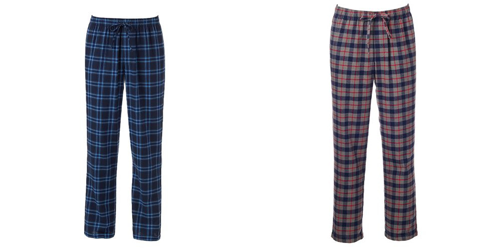 Kohls.com: Men's Flannel Lounge Pants as low as $3.36 shipped!