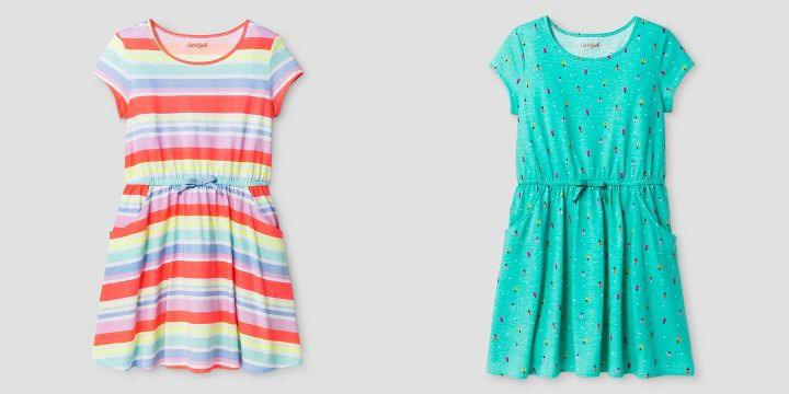 Target: Buy One, Get One 50% off Dresses = Girl's dresses for just $7.50!