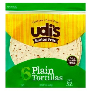 Target: Udi's Gluten Free Tortillas for just $1.38!