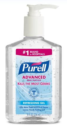 Target: Free Purell Hand Sanitizer!