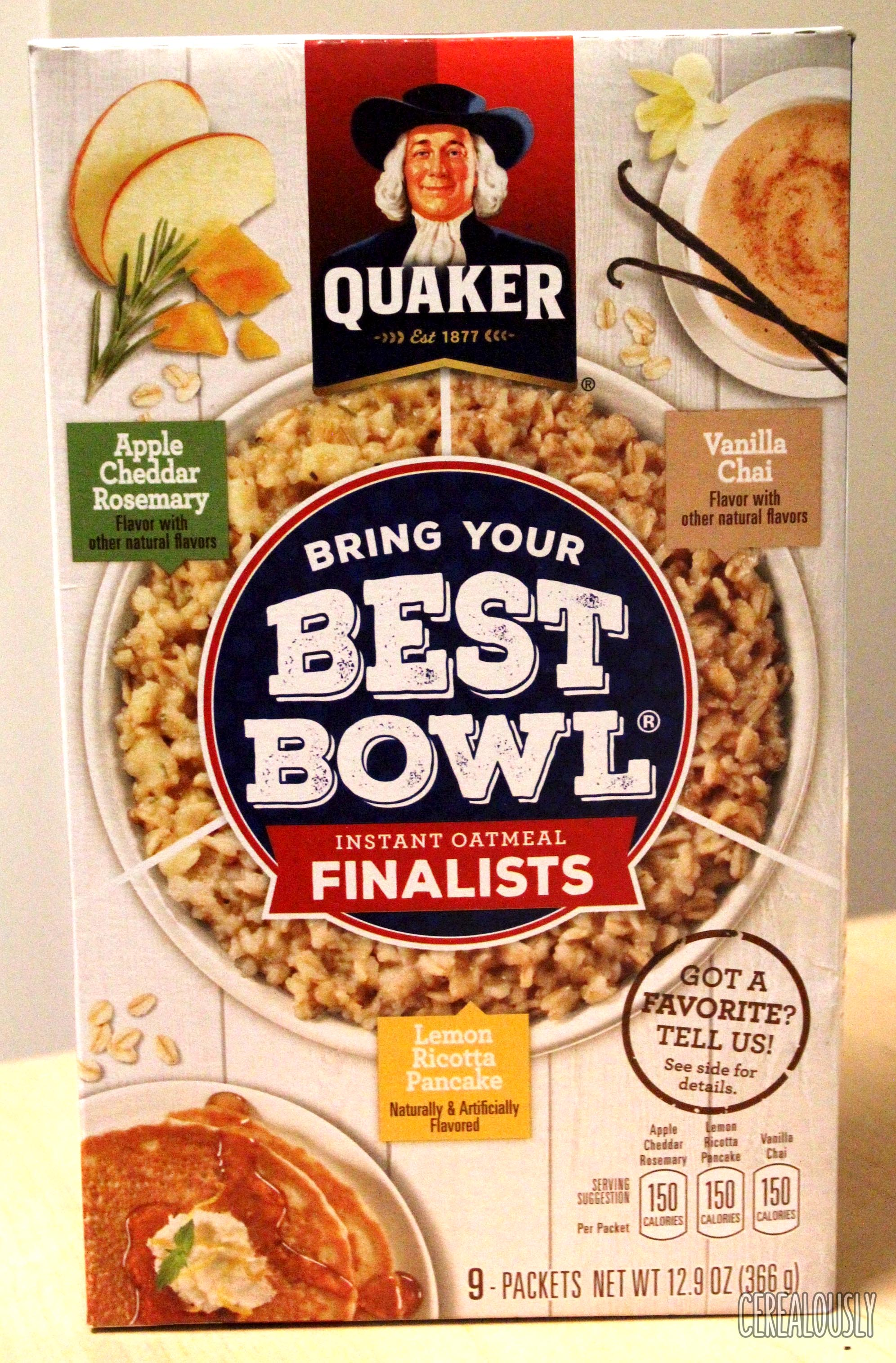 Target: Quaker Oats Best Bowl Oatmeal just $0.75!