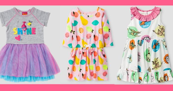 Target: 30% off Toddler Dresses