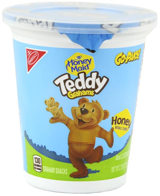 Target: Free Teddy Grahams Go Pak!
