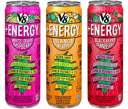 New $1/1 V8 Energy Drink Ibotta rebate = Free at various stores!