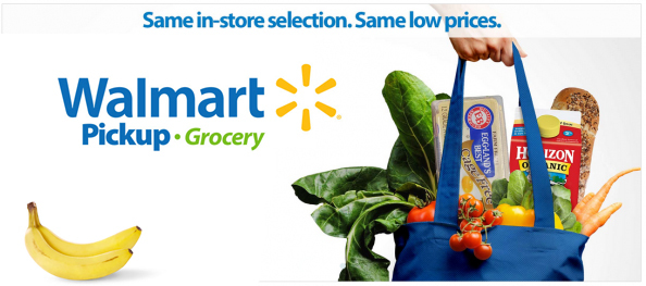 Walmart Grocery Service: $10 off any $50 purchase