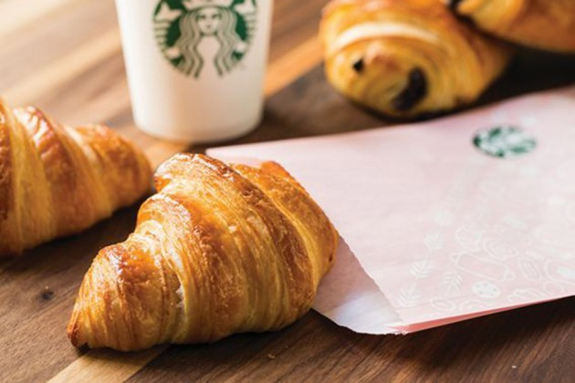 Target Cartwheel: 50% off Starbucks Cafe pastries and warm sandwiches