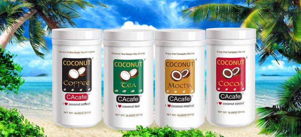 Free CAcafe Coconut Coffee and Tea Sample