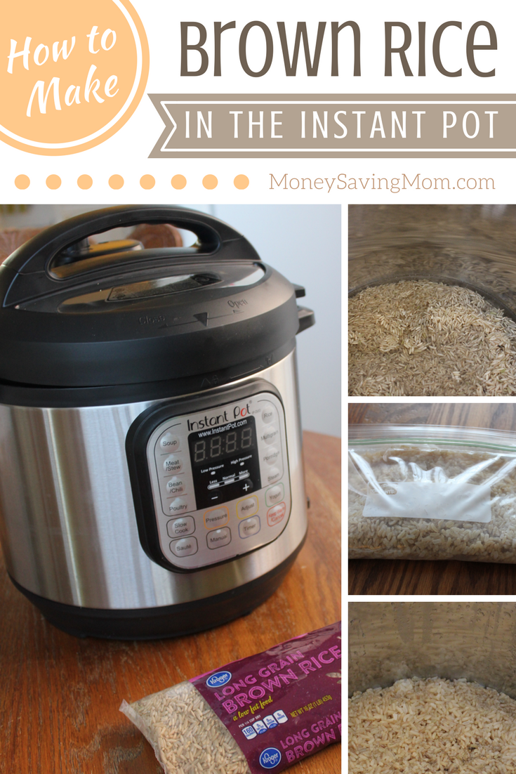 Scared To Try Your Instant Pot For The First Time? Try This Easy Brown Rice