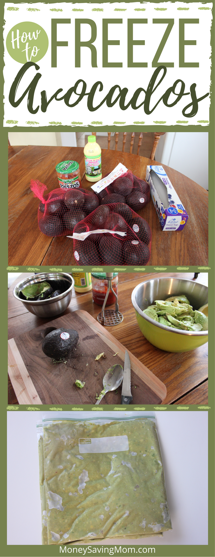 Yes -- you can freeze avocados! Read this post to find out how! It's actually SUPER simple!
