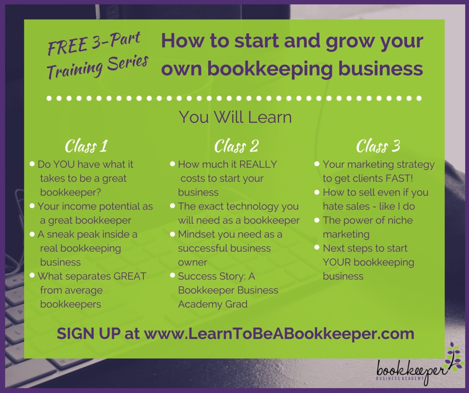 Even If You Know Nothing About Bookkeeping Bookkeeper Business Launch Will Teach How To Start And Grow Your Own