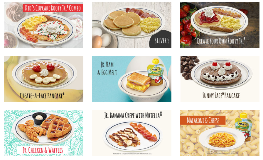 IHOP: Free kids meal with any adult entree purchase