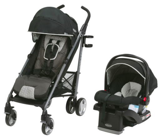 walmart graco breaze travel system stroller with snugride infant car seat just 139 regularly. Black Bedroom Furniture Sets. Home Design Ideas