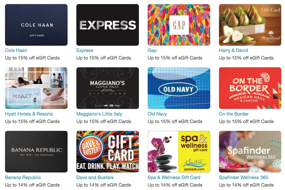 RetailMeNot.com: Get discounted eGift Cards to stretch your online shopping savings!