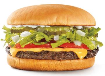 Sonic: Half Price Cheeseburgers on April 18, 2017