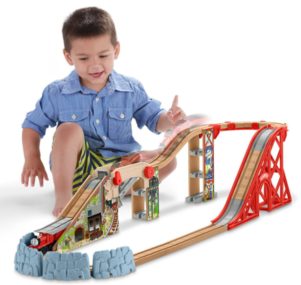 Amazon.com: Fisher-Price Thomas the Train Wooden Railway Speedy Surprise Set for just $49.99 shipped!