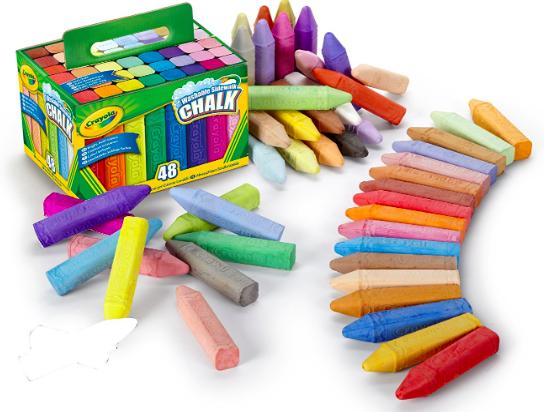 Amazon.com: Crayola (48 count) Sidewalk Chalk just $3.99!