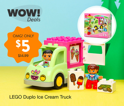 *HOT* Get the LEGO DUPLO Ice Cream Truck Set for just $5!