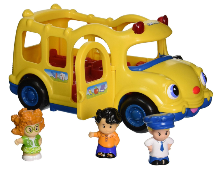 Amazon.com: Fisher-Price Little People Lil' Movers Baby School Bus for just $9.84!