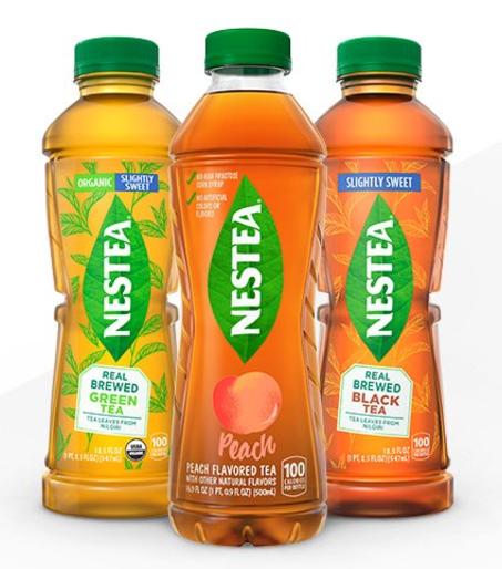 Free Bottle of NESTEA Iced Tea!