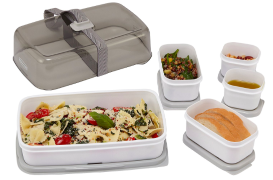Amazon.com: Rubbermaid Fasten + Go Entree Kit Lunch Containers just $6.31!