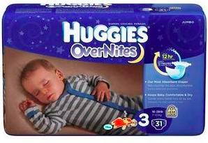 Free Huggies OverNites Diapers sample