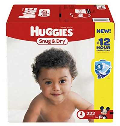 Amazon.com: Huggies Snug & Dry Diapers for just $0.10 per diaper, shipped!