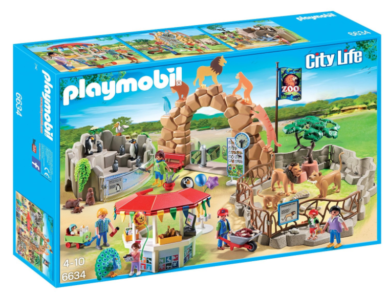 Amazon.com: Playmobil City Zoo Kit for just $33.12!