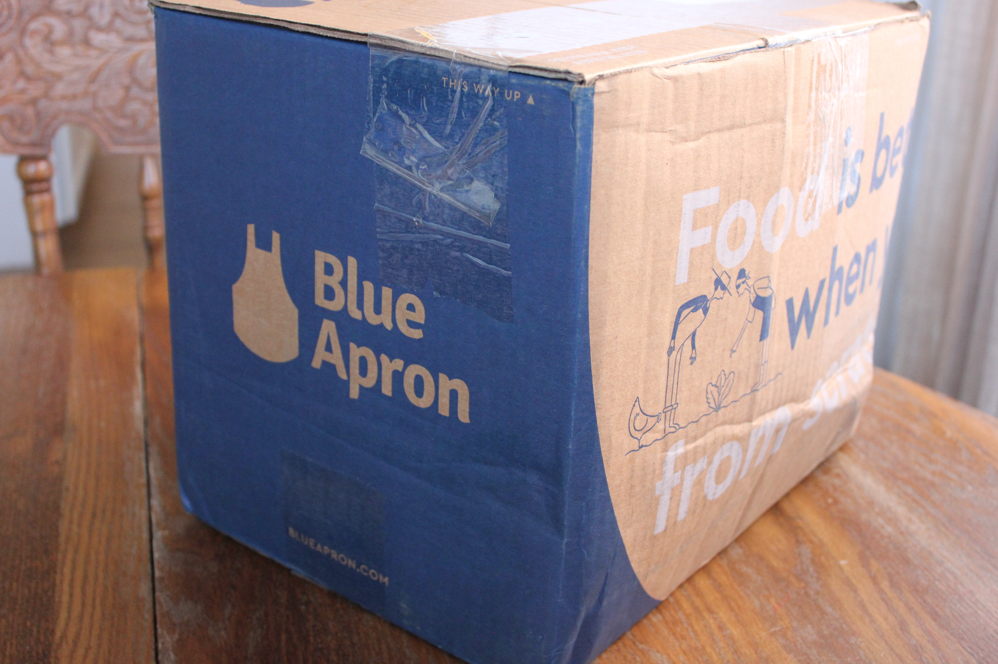 Blue apron deliver to canada