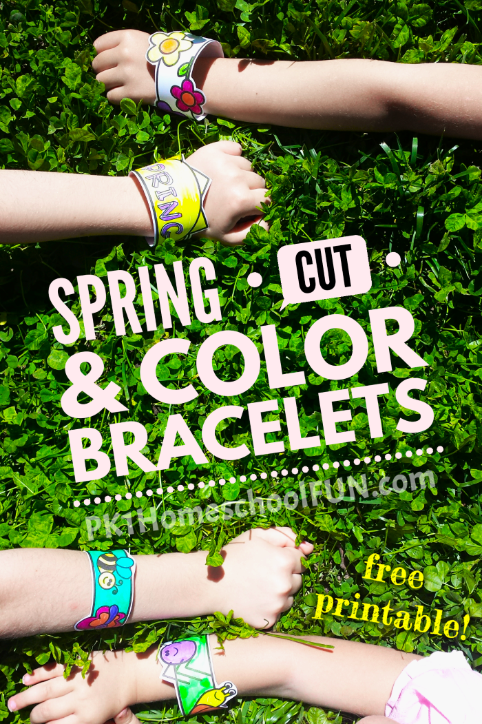 Free Spring Cut & Color Bracelets