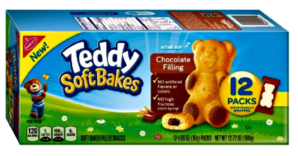 Target: Teddy Grahams Soft Bakes (12 ct) for just $0.95!