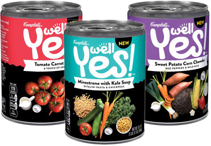 CVS: Get 2 Free Well Yes! Campbell's Soups starting April 16!