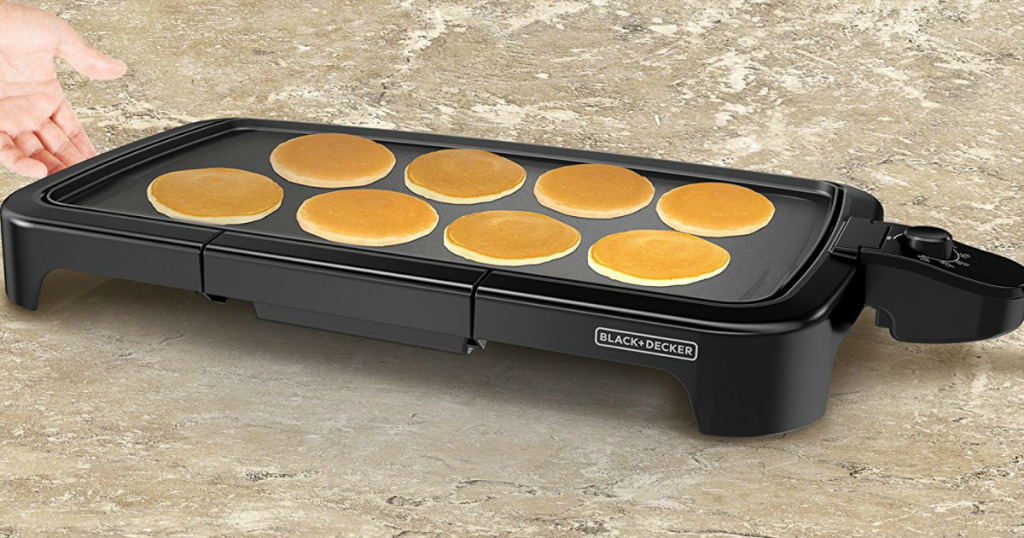 Amazon.com: Black + Decker Electric Griddle for just $15.02!