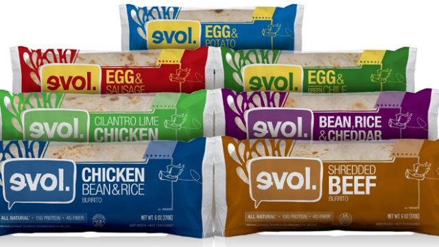 Target: EVOL Burritos for just $0.87!