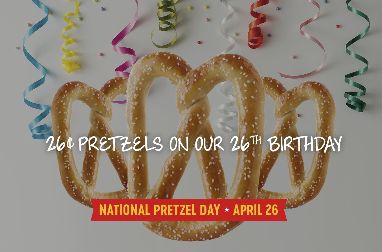 Pretzelmaker: Soft Pretzels for $0.26 on April 26, 2017
