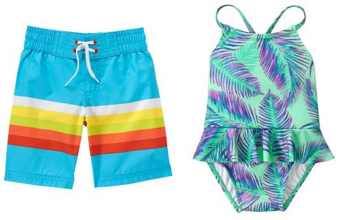 Crazy 8: Boy's and Girl's Swimwear as low as $7.44 plus free shipping!