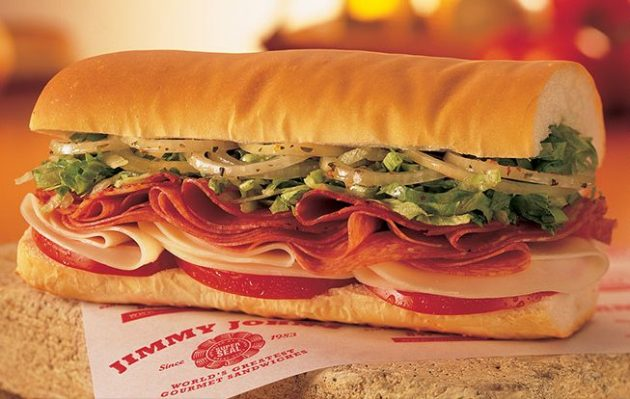 Jimmy Johns: Get a sub for $1 on May 2, 2017!