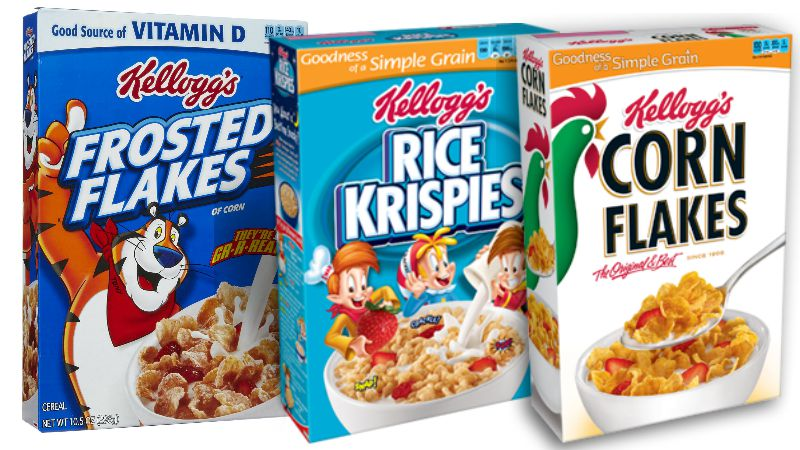 $3/5 Kellogg's cereals printable coupon = Kellogg's cereal for just $1.28 per box!